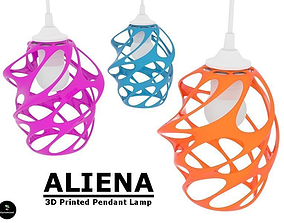 Aliena - Pendant Lamp Shade 3D printable model