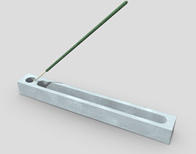 Incense Burner 3 3D model