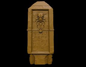 Lovecraftian monolith 3D print model