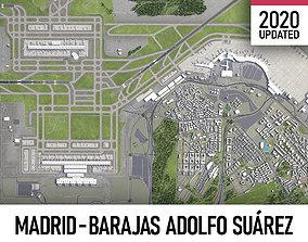 Madrid-Barajas Adolfo Suarez International 3D model