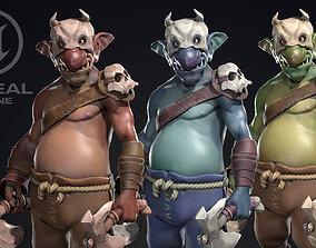 Goblin - Game-ready 3D model