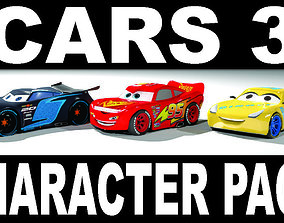 game-ready CARS 3 CHARACTER PACK 3D