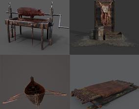 3D Medieval Prop Mix Three