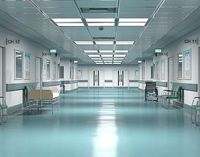 other Hospital Hallway 1 Modular 3D model