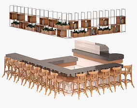 3D Bar Set 012