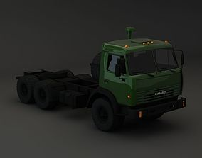 3D model truck Kamaz Modify 6x4