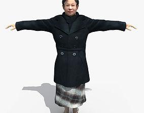 3D model Asian Woman 02