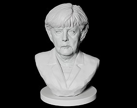 Angela Merkel politics 3D print model