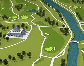 Golfclub 3D model