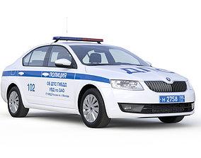 3D model Police Car police