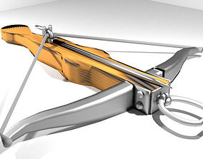 3D Crossbow - Medieval Type 2