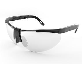 development Safety glasses for worker 3D model