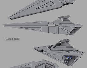 3D model Galaxy cruiser