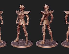 3D printable model Saint Seiya Aiolia Leo