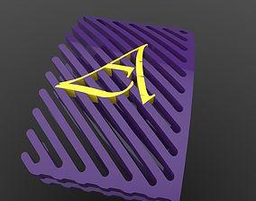 3D print model Name show off Ribs