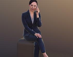 Bao 10279 - Business Talk Woman 3D asset