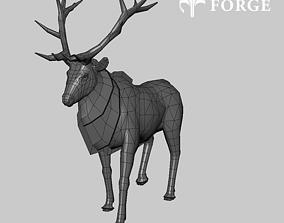 Nordic Deer 3D asset