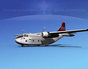 3D Fairchild C-123B Florida Air Freight