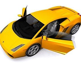 3D asset Lamborghini Gallardo