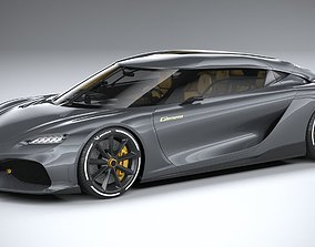3D Koenigsegg Gemera 2021