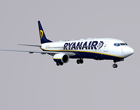 Boieng 737-800 Ryanair 3D model