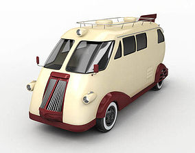 Retro Car Western flyer 3D model