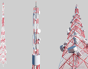 3D Telecommunication Tower factory
