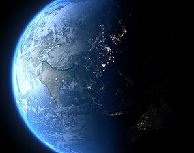 3D model Earth in May