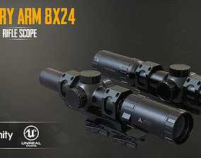 3D model Primary Arms 8x24 RifleScope
