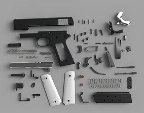 cosplay 3D model 1911 Pistol Colt M1911 M1911A1