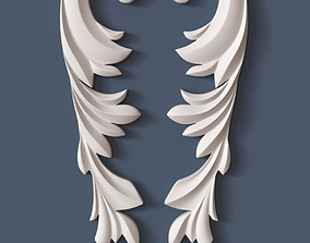 wall-decoration Decorative Scroll 3D