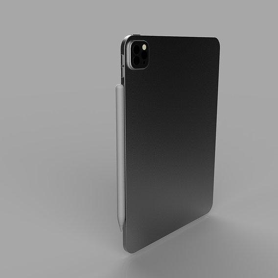 Ipad pro 11 3d model
