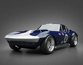 1964 GrandSport Corvette 3D model