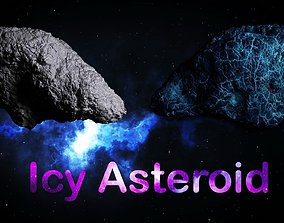 3D Icy Asteroid