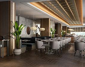 3D Restaurant hotel