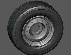 3D model low-poly Russian Tire Niva