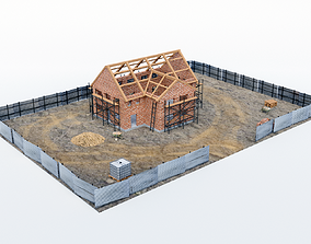 House construction 3D asset
