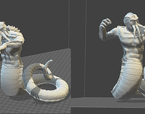 3D print model CHTULU like creature toy soldier