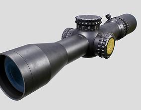 Nightforce ATACR 4-16x42 F1 tactical rifle 3D model