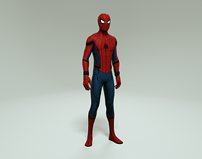 rigged SPIDER-MAN HOMECOMING VERSION - 3D MODEL RIGGED