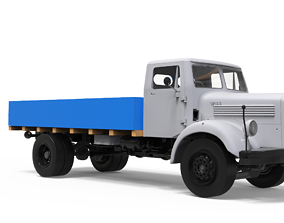 Mercedes L312-TATA 1210D Vintage Truck - 3D printable 1