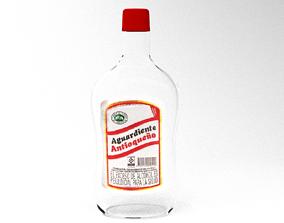 Colombian Schnapps Antioqueno 3D