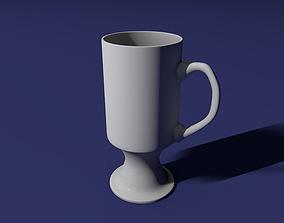 Irish coffee glass 3D print model