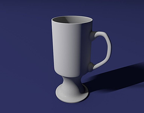 Irish coffee glass 3D print model