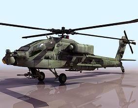 APACHE 3D model combat