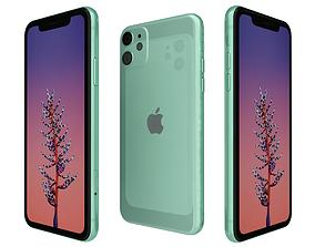 Apple iPhone 11 Green 3D model