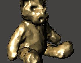 3D printable model The Angry Teddy Bear