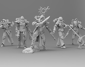 3D printable model Coven of the Primordial - 13 Slaves to