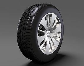 Daihatsu Thor wheel 2017 3D model