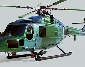 3D Westland Lynx Helicopter
